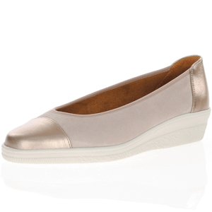 Gabor - 402.35 Suede Leather Pump, Light Pink