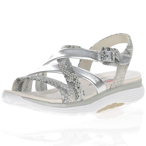 Gabor - 811.80 Rolling Soft Sandal, Silver