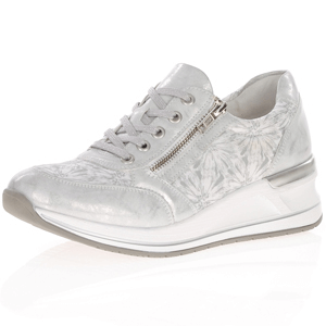 Remonte - D3203-90 Low Wedge Trainer, Silver