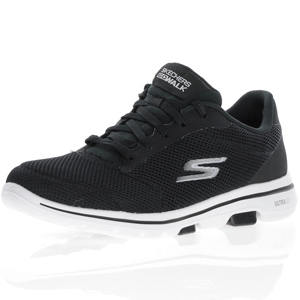 Skechers - Go Walk 5 Lucky, Black - White