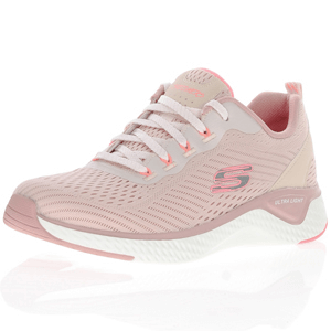 Skechers - Solar Fuse Mesh Trainer, Light Pink