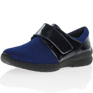 Softmode - Daba Wide Fit Shoe, Navy