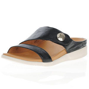 Strive Footwear - Eden Leather Sandal, Black