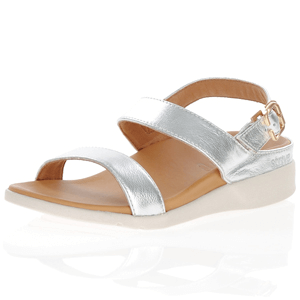 Strive Footwear - Lucia Silver Sandals