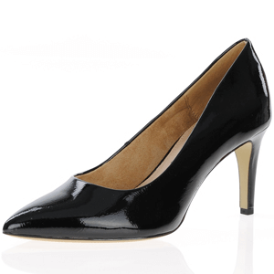 s.Oliver - 22403 Patent Court Shoe, Black