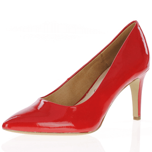 s.Oliver - 22403 Patent Court Shoe, Red