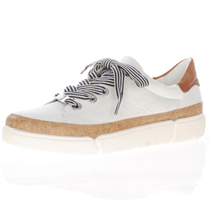 Ara - 14404 Leather Lace Up Trainer, White