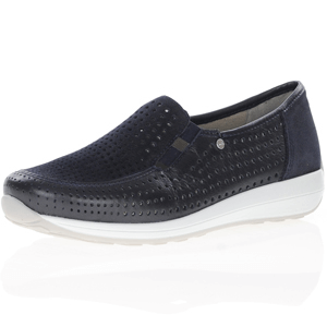 Ara - 26396 Leather Shoe, Dark Navy