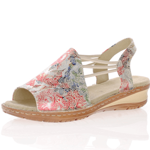 Ara - 27241 Metallic Sling Back Sandal, Multi