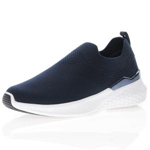Ara - 54512 Slip On Sock Trainers, Navy
