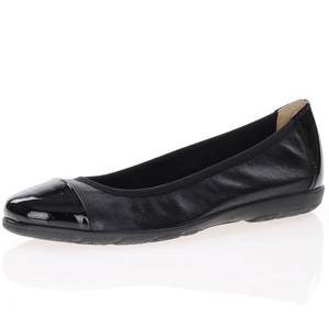 Caprice - 22152 Leather Pump, Black