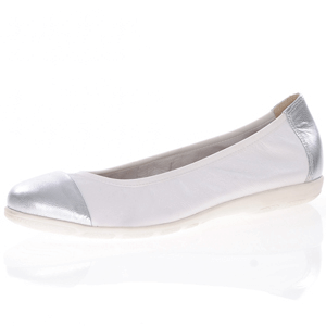 Caprice - 22152 Leather Pump, White