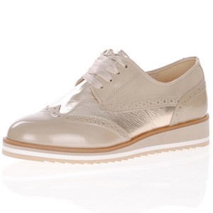 Caprice - 23300 Leather Lace Up Shoe, Sand