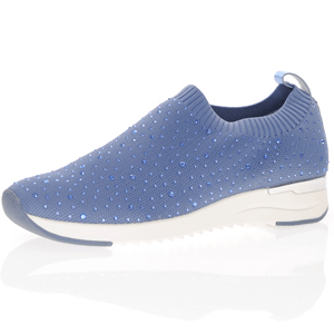 Caprice - 24700 Pull On Trainers, Blue