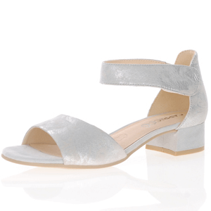 Caprice - 28212 Ankle Strap Sandal, Silver