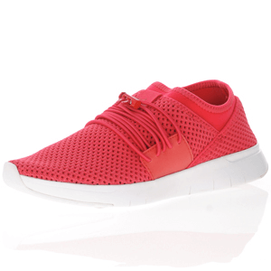 Fitflop - Airmesh Sock Trainer, Passion Red