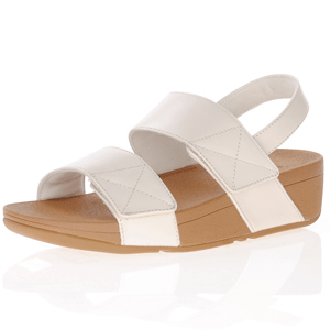 Fitflop - Mina Leather Back Strap Sandals, Stone