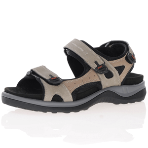 G-Comfort - 9051-1 Leather Walking Sandal, Beige Combi