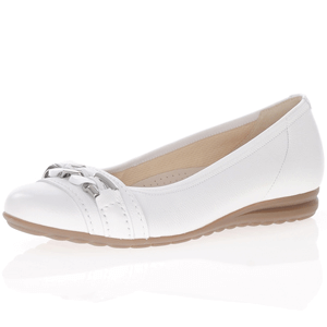 Gabor - 621.50 Leather Pump, White