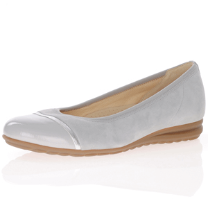 Gabor - 622.40 Nubuck Leather Pumps, Light Grey