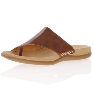 Gabor - 700.24 Leather Toe Post Sandal, Peanut