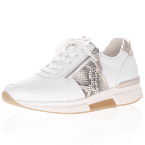 Gabor - 928.51 Rolling Soft Leather Trainer, White