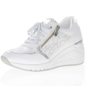 Marco Tozzi - 23743 Wedge Trainer, White