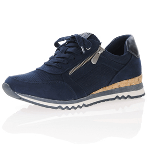Marco Tozzi - 23781 Casual Trainer, Navy