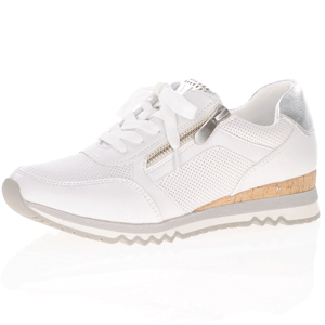 Marco Tozzi - 23782 Casual Trainer, White NEW