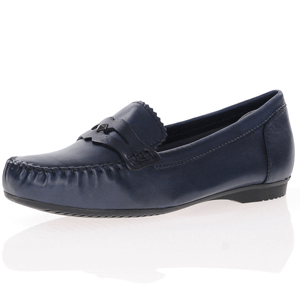 Marco Tozzi - 24225 Leather Moccasin, Navy