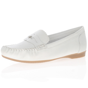 Marco Tozzi - 24225 Leather Mocassin, White