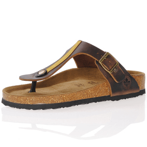 Rieker - V9481-25 Toe Post Sandals, Brown