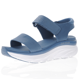 Skechers - D'Lux Walker New Block Sandal, Slate