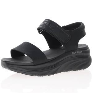 Skechers - D'Lux Walker New Block Sandal, Black