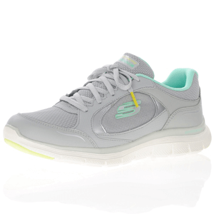 Skechers - Flex Appeal 4.0 Mesh Trainer, Grey