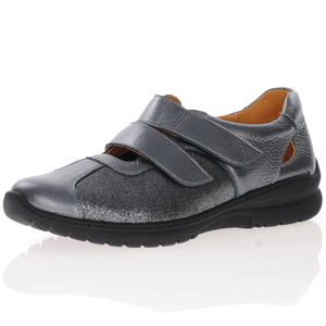 Softmode - Chrissy Velcro Shoe, Grey