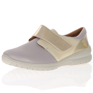 Softmode - Daba Leather Shoe, Gold Beige
