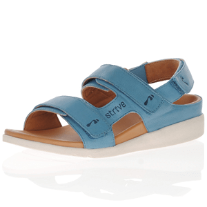 Strive Footwear - Aruba Leather Sandals, Ocean