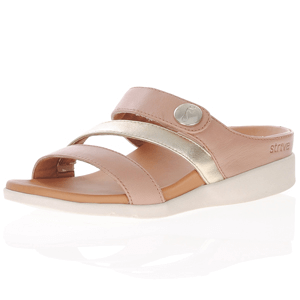 Strive Footwear - Azore Leather Sandals, Dusty Pink