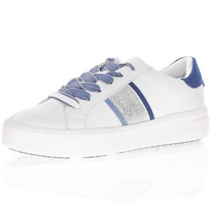 Tamaris - 23750 Lace Up Trainers, White - Jeans