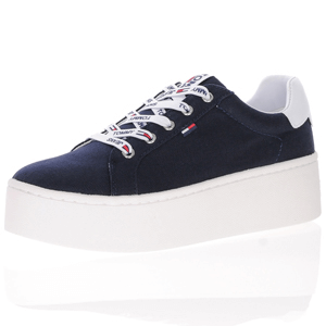 Tommy Jeans - Canvas Platform Trainer, Navy