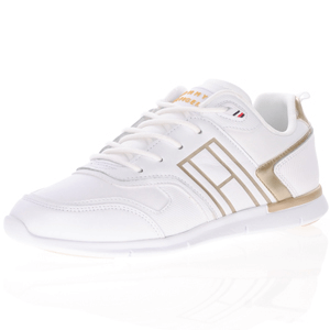 Tommy Hilfiger - Metallic Lightweight Trainer, White