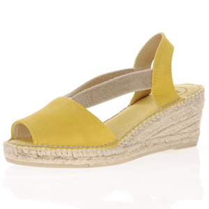 Toni Pons - Teide-A Low Wedge Espadrille, Yellow
