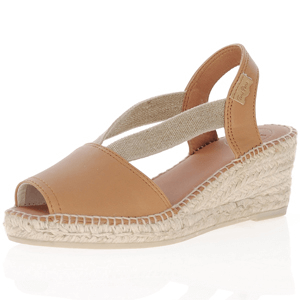 Toni Pons - Teide-P Low Wedge Espadrille, Tan