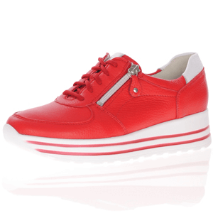 Waldlaufer - 758009 Lace Up Shoe, Red
