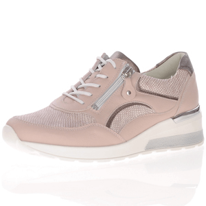 Waldlaufer - 939011 Low Wedge Trainer, Nude