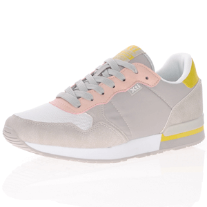 Xti - 42402 Lace Up Trainer, Grey