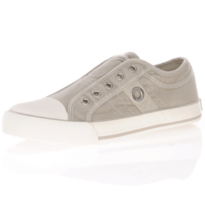 s.Oliver - 24635 Slip On Trainer, Grey-beige