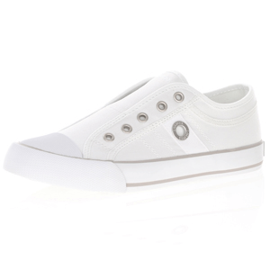 s.Oliver - 24635 Slip On Trainers, White